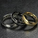 Titanium Cincin Lord Of The Ring High Quality Titanium Diskon