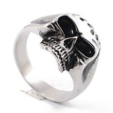 Titanium - Cincin Tengkorak Keren dan Berkualitas CMB002