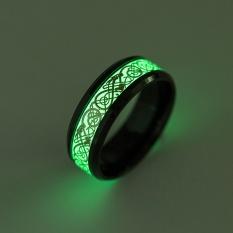 Harga Titanium Steel Cincin Bercahaya Garis Pola Berpendar Round Cincin Untuk Pria Wanita Pesta Prom Kepribadian Perhiasan Intl Oem Online