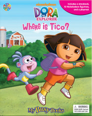 Jual Tiyo Tiyo Books My Busy Books Dora The Explorer Where Is Tico Lengkap