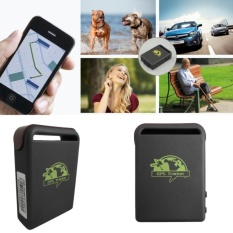 TK102A Mini Kendaraan GSM GPRS GPS Tracker Car Vehicle TrackingLocator W/Charger-Intl