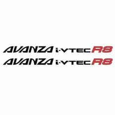 Beli Tokomonster Sticker Avanza I Vtec Rs Sticker Rs Samping Mobil Online