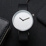 Ulasan Mengenai Tomi Fashion Casual Pria Bulat Bisnis Retro Design Leather Band Watch Intl