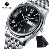 Diskon Top Brand Luxury Mens Bisnis Watches Full Steel Waterproof Men Sport Quartz Wrist Watch Male Clock Relogio Masculino 8802 Intl Wwoor