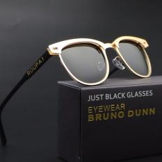 Perbandingan Harga Top Brand Women Sunglasses 2017 Hd Terpolarisasi Lensa Vintage Eyewear 0911 Emas Bingkai Abu Abu Lensa Di Tiongkok