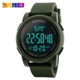 Top Mewah Merek Skmei Watch 1257 Pria Led Digital Countdown Olahraga Jam Tangan Relogio Masculino Intl Asli