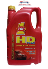 Top One HD Plus 10W-30 Synthetic Oli Mobil Mesin Diesel 5 Liter Made in USA