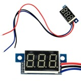 Jual Toprank 1Pcs Red Led Panel Meter Digital Voltmeter Dc 100V Oem Asli
