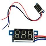 Jual Toprank 1Pcs Red Led Panel Meter Digital Voltmeter Dc 100V Baru