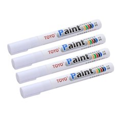 Toyo Paint Tire Maker / Spidol Ban - Merah (Paket 4 Pcs)