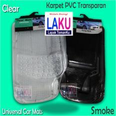 Toyota Avanza Veloz 2014 Karpet Full PVC 3Pcs Universal Clear