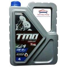 Toko Toyota Motor Oil Synthetic Tmo 10W 40 Api Sn Oli Mobil Mesin Bensin 4 Liter Lengkap Dki Jakarta