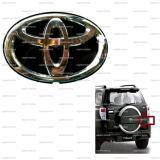 Jual Toyota Rush 2007 2014 Logo Tutup Ban Serep Cadangan Belakang Hitam Emblem Mobil Metal Sticker Stiker Original