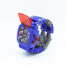TRANSFORMERS kecil untuk pria dan wanita anak-anak mahasiswa jam digitec jam tangan