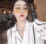 Perbandingan Harga Kacamata Hitam Warna Warni Wanita Transparan Di Tiongkok