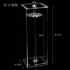 Harga Transparan Perhiasan Penyimpanan Kotak Anting Anting Rak Gantung Kotak Tiongkok