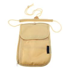 Beli Keamanan Perjalanan Di Bawah Pakaian Tas Dompet Uang And Paspor Kartu Leher Kantong 4 Saku Krem Oem