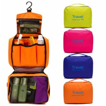Pencari Harga Travel Trace Bag / Travel Your Life / Travel Mate Toiletries Travel Organizer Jumbo