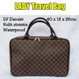 Jual Travelbagmurah Lady Travel Bag L Damier Grosir