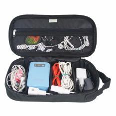 Promo Traveltime 813 Cable Case Black Aksesoris Travel Traveltime Terbaru