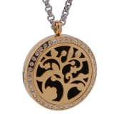 Harga Tree Of Life Aromaterapi Perfume Essential Oil Diffuser Necklace Locket Intl Paling Murah