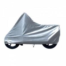 Trend Cover - Selimut Mantel Sarung Motor Bebek Silver
