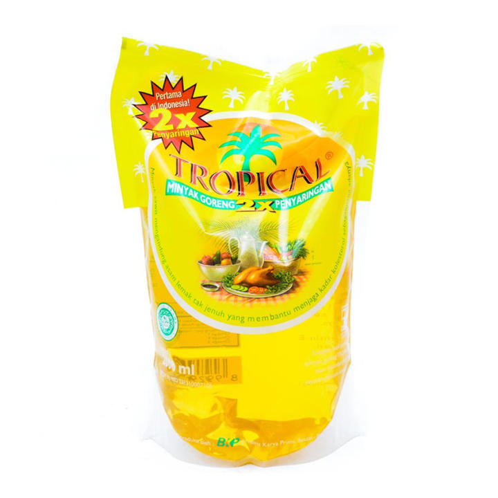 harga Tropical Minyak Goreng Pouch 2 L Lazada.co.id