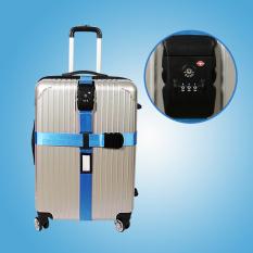 Beli Tsa Kode Pabean Kunci Pengepakan Bagasi Gesper Sabuk Tali Pengikat Biru Oem