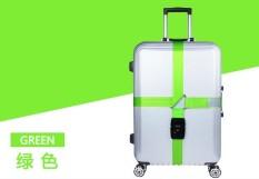TSA Luggage Strap, Travel Luggage Strap dengan 3 Dial TSA Kunci Yang Disetujui, Bisa Disesuaikan Suitcase Belt Packing Belt Label Travel untuk Keamanan Bandara dan Klaim Bagasi Identifikasi-Intl