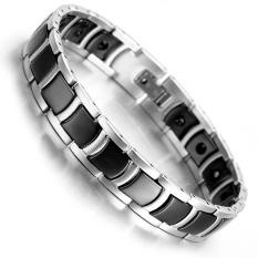 Spesifikasi Tungsten Magnetic Hematite Pria Gelang 8 2 21 Cm Perawatan Kesehatan Perhiasan Intl Lengkap