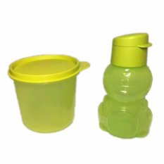 Tupperware High Bowl + Eco kids Hijau Set