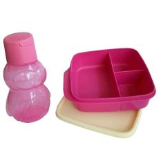 Tupperware Lunch Box Lolly Eco kids Pink