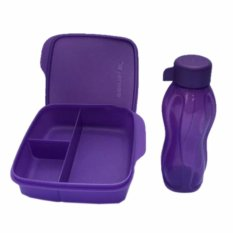 Tupperware Lunch Box set Glittery Eco Lolly 2pcs/set (R)
