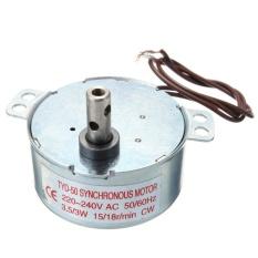 Turntable Synchronous TYC-50 Motor Berputar 15/18R/min AC 220-240 V 3.5/3 W CW -Intl