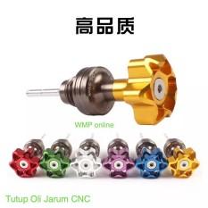 Tutup Oli Jarum CNC Gold WMP-0867-K