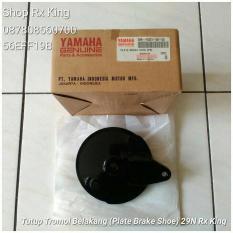 Tutup Tromol Belakang (Plate Brake Shoe) 29N Rx King- Ori Yamaha NOS
