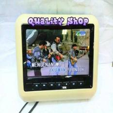 TV Headrest Clip On 7 Inch Embassy EM-799D DVD VCD USB Premium