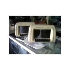 Tv Mobil/Tv Monitor Headrest Layar 7 Inci Merk Hollywoo Murah