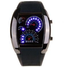 Beli Tvg Speedometer Jam Tangan Pria Rubber Strap Tvgs 800 Hitam Online Terpercaya
