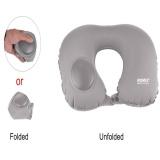 Review Terbaik U Shape Automatic Pneumatic Inflatable Portable Travel Pillow
