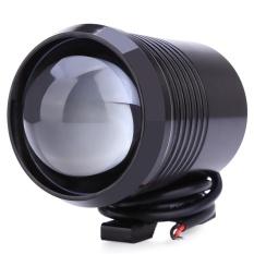 U2 1200LM 30 W Upper Low Flash Motor Headlight LED Lampu Kabut Sepeda Motor Spot Light-Intl