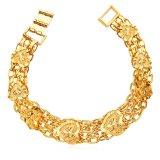 Toko U7 Jantung Chunky Rantai Gelang 18 Kb Nyata Emas Berlapis Fashion Wanita Perhiasan Hadiah Romantis Perfect Way Emas Terlengkap Di Tiongkok