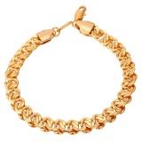 Top 10 U7 Rantai Baru Gelang Untuk Pria 18 Karat Asli Berlapis Emas Fashion Perhiasan Emas Online