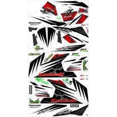 UDS Ninja Decal 250 cc Kawasaki Putih
