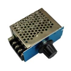 Jual Uinn 4000 W 220 V Scr Tegangan Regulator Sesuaikan Kontrol Kecepatan Motor Dimmer Thermostat Online