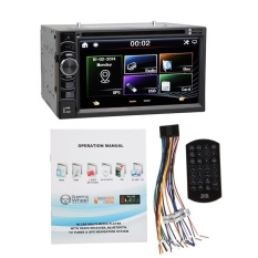 UINN 6.5in Double DIN Sentuh Mobil Stereo DVD CD Player TV FM/AMRadioMP3/MP4-Intl