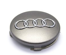 Spesifikasi Ujs 4 Fit For Audi Gray Car Wheel Centre Hub Cap Emblem Badge Logo 60Mm 4B0601170 Baru