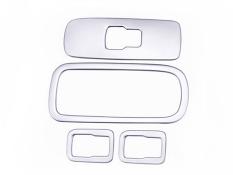 UJS tangan KIRI pintu drive Window control switch tombol cover 4 pcs Untuk VOLVO XC60 XC 60 2015 2014 2013 2012 2011 2010 2009