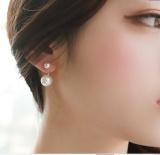 Ukuran Jepang Dan Korea Selatan Style Perempuan Anting Hypoallergenic Anting Anting Perak Di Tiongkok