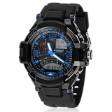 Harga Ulamore Multi Fungsi Militer Digital Led Quartz Sports Watch Tahan Air Biru Internasional Asli Oem